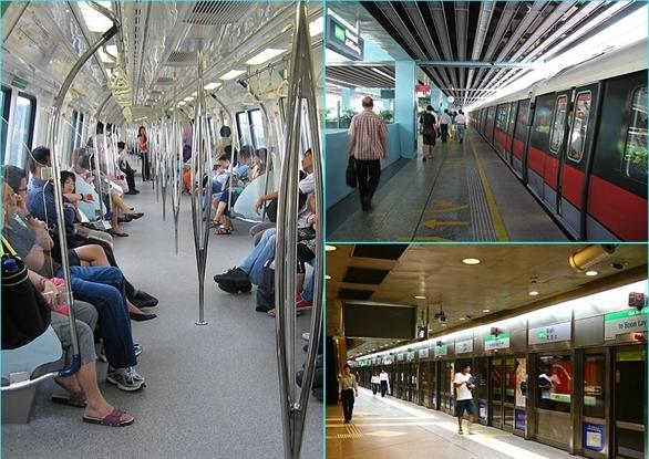 Hướng dẫn di chuyển bằng tàu điện ngầm ở Singapore