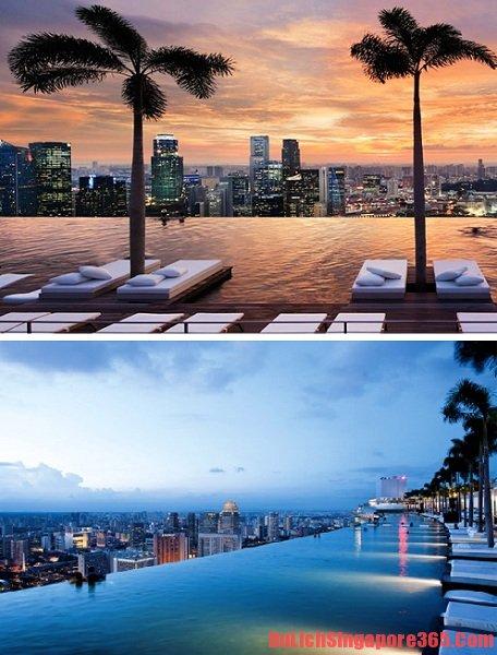 Khách sạn có bể bơi đẹp nhất ở Singapore