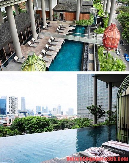 Thuê khách sạn có bể bơi ở Singapore đẹp, hoành tráng nhất