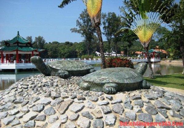 Đảo rùa hòn đảo nổi tiếng ở Singapore linh thiêng và yên bình
