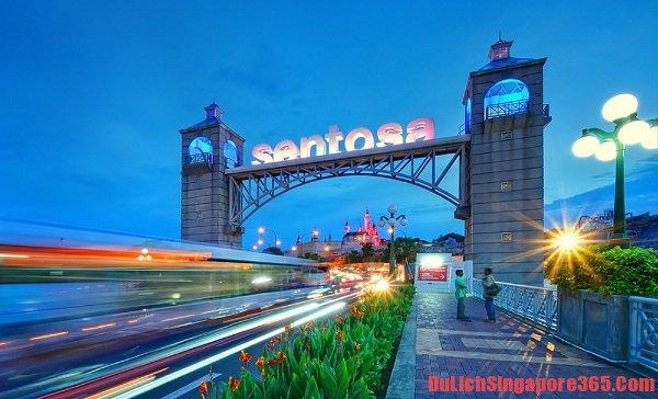 Địa điểm tham quan đẹp, nổi tiếng ở Singapore