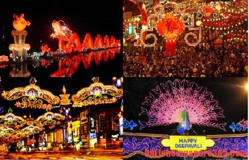 Du lịch Singapore cùng với tham quan lễ hội Deepavali của người Ấn Độ  - Nên đi du lịch Singapore vào lúc nào