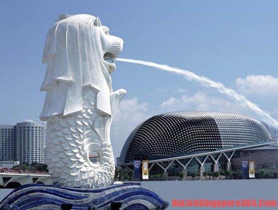 Những bức tượng sư tử biển đẹp nhất SIngapore