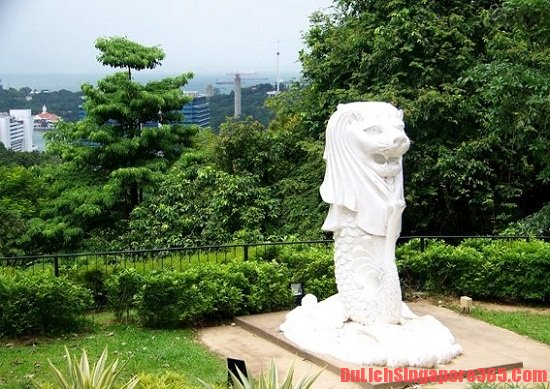 Những tượng Merlion đẹp nổi tiếng tại Singapore