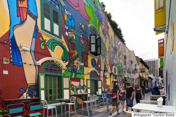 Địa điểm tham quan mới tại Singapore đạm chất du lịch văn hóa