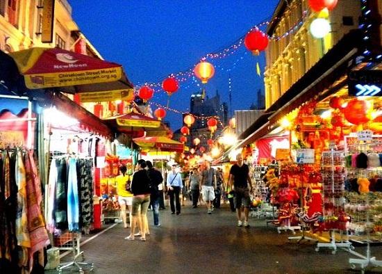Chợ đêm diểm du lịch mới hấp dẫn tại Singapore, cùng du lịch văn hóa người Hoa