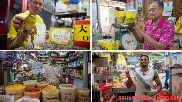 Những khu chợ nổi tiếng ở Singapore