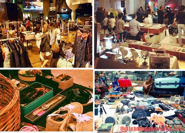 Khu chợ trời nổi tiếng ở Singapore