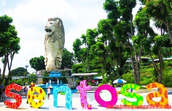 Tới thăm sentosa là lý do nên đi du lịch Singapore trong hè này