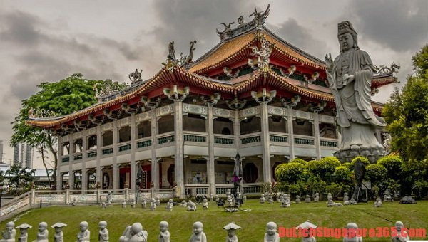 Những ngôi chùa nổi tiếng linh thiêng tại Singapore