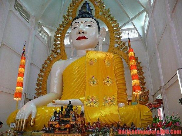 Chùa nổi tiếng Singapore, chùa linh thiêng tại đảo quốc, bức tượng lớn nhất châu Á