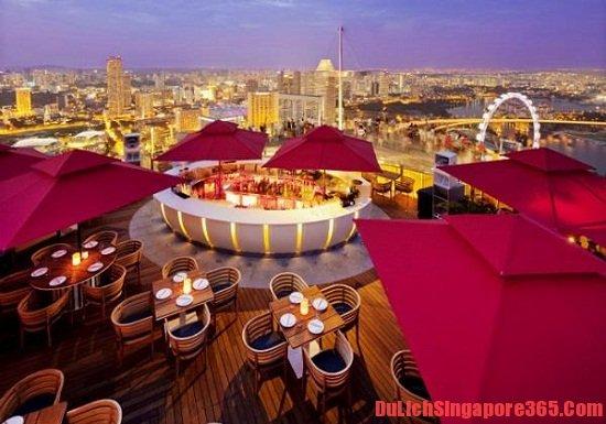 Những quán bar đẹp nhất Singapore