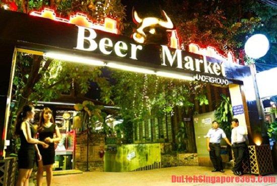 Beer bar quán bar có cách phục vị độc đáo nhất Singapore, quán bar đẹp bạn nên tới một lần