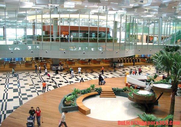 Phương tiện đi từ sân bay Changi vào Singapore