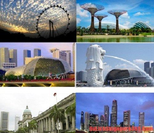 Tour tham quan Singapore trong thời gian quá cảnh
