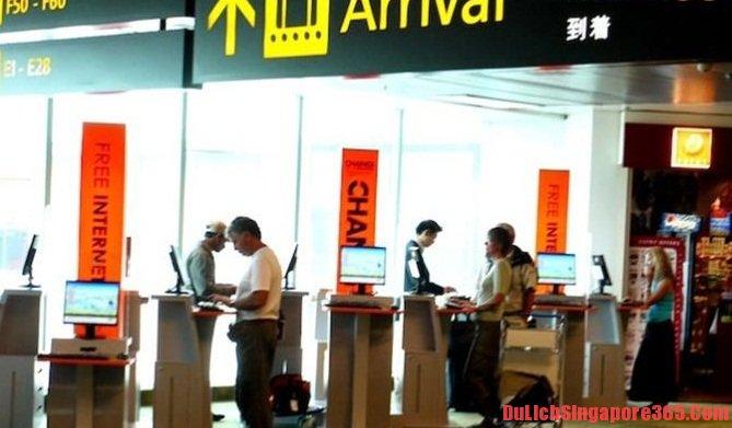 Yêu cầu lấy dấu vân tay khi muốn nhập cảnh ở Singapore