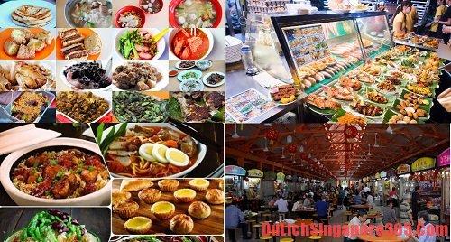 Thưởng thức món ăn tại Hawker Food Center điều bạn không nên bỏ lỡ khi đến Singapore