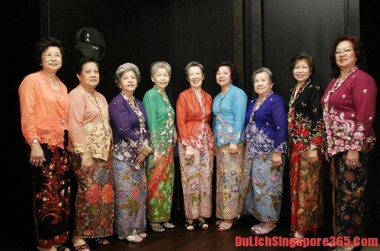 Trang phục truyền thống của người SIngapore