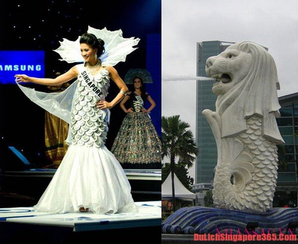 Trang phục truyền thống của Singapore trên đấu trường hoa hậu
