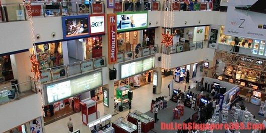 Mua sắm giá rẻ ở Singapore: chợ công nghệ thông tin Funan
