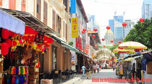 Địa điểm ăn uống giá rẻ khi du lịch Singapore tự túc