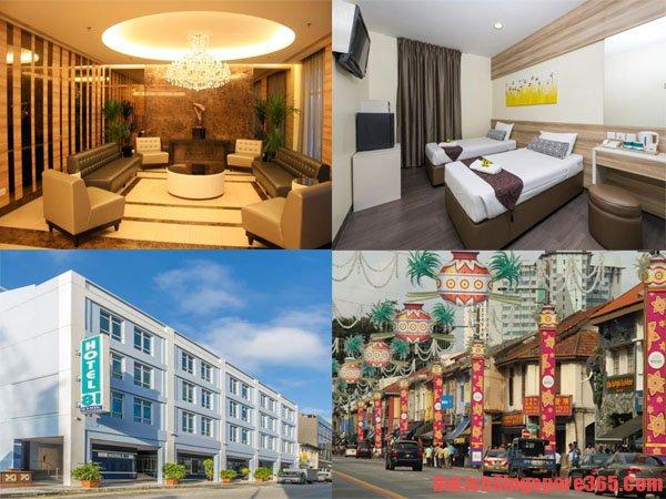 Khách sạn tốt ở Singapore: Đẹp, giá rẻ, thân thiện, vị trí tốt nên ở nhất