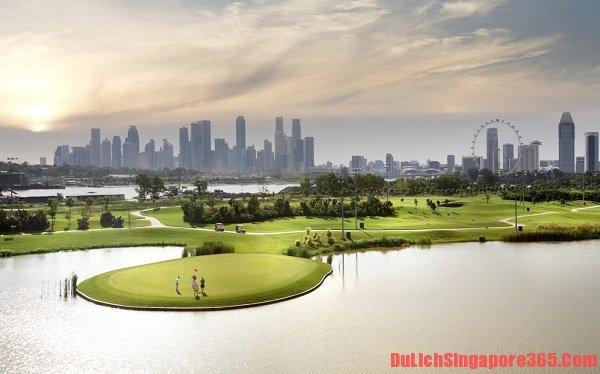 Marina Bay Golf Course hoành tráng có một không hai dành cho những người yêu môn thể thao vàng. Đây là một trong 5 địa điểm hấp dẫn lí tưởng tại vịnh Marina