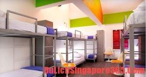 Kinh nghiệm ngủ giường tập thể khi du lịch Singapore