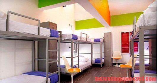 Hướng dẫn & kinh nghiệm ngủ phòng tập thể dành cho dân du lịch bụi Singapore