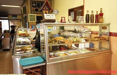 Món ngon, rẻ nên thử khi đến Singapore