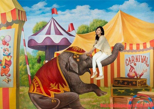Thăm bảo tàng tranh 3D lớn nhất Đông Nam Á