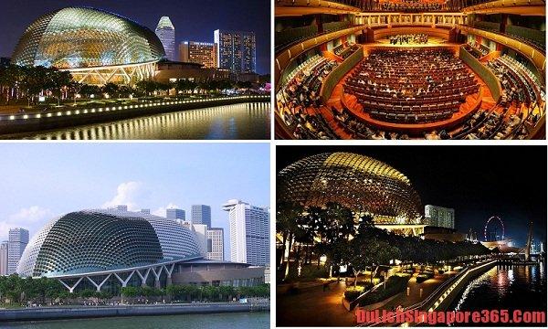 Top 5 địa điểm hấp dẫn nhất bên vịnh Marina Singapore xinh đẹp. Bảo tàng Khoa học Nghệ thuật độc đáo, tinh tế.