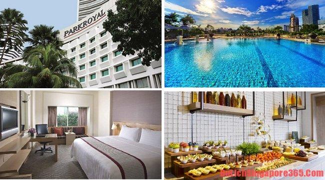 Khách sạn có view đẹp ở Singapore gần tàu điện MRT