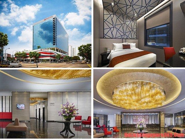 Khách sạn bình dân, giá rẻ gần ga tàu điện MRT - Bugis