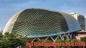 Hướng dẫn tham quan nhà hát quả sầu riêng ở Singapore