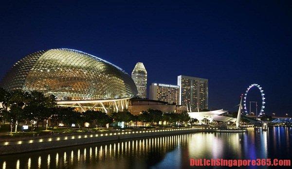 Khám phá nhà hát Esplanade tại Singapore có kiến trúc độc đáo