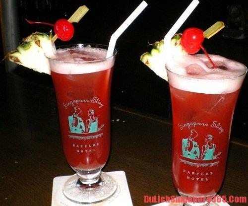 Đồ uống ngon và hấp dẫn nổi tiếng SIngapore, đồ uống truyền thống