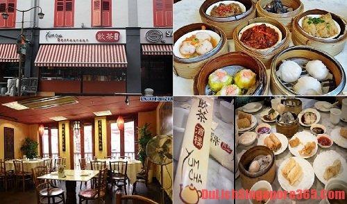 Quán ăn Yum Cha địa chỉ ăn ngon, rẻ tại Singapore