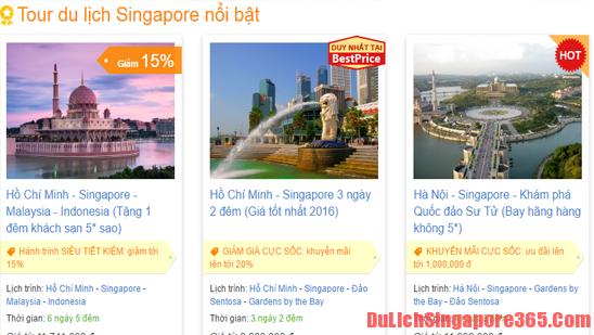 Tour du lịch Singapore giá rẻ, chất lượng mà bạn nên chọn